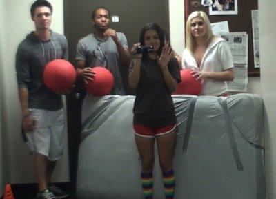 college dodgeball